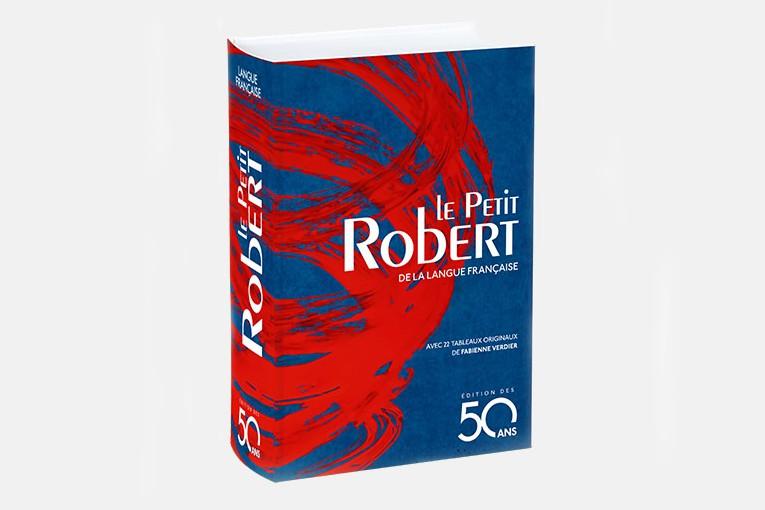 Le vénérable dictionnaire français Petit Robert,... (CAPTURE D'ÉCRAN)