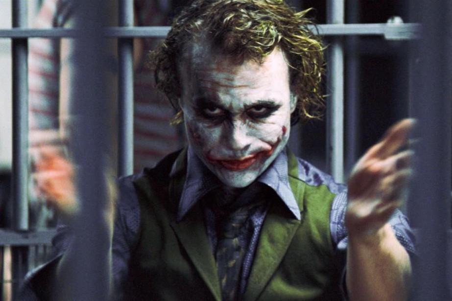 Heath Ledger a incarné le Joker dans The... (photo fournie par warner bros.)