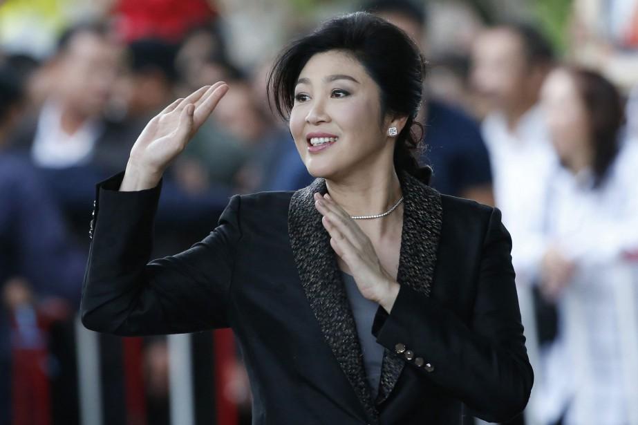 Yingluck Shinawatra a toujours dit exclure de fuir... (Photo Sakchai Lalit, archives AP)