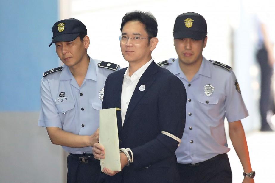Lee Jae-yong, le vice-président de Samsung Electronics et... (AFP)