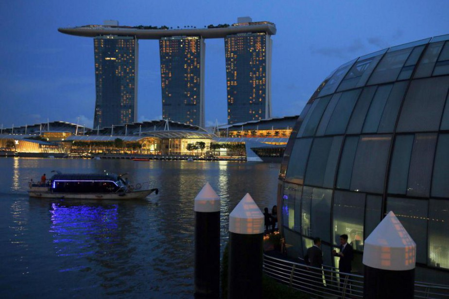 Marina Bay Sands est l'un des attraits touristiques... (photo Edgar Su, archives reuters)