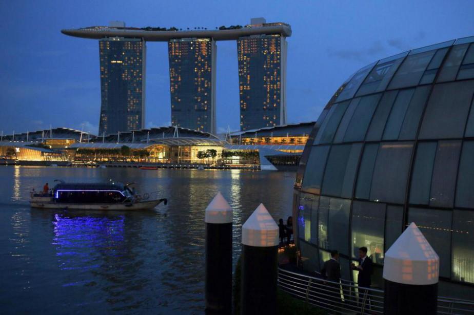 Marina Bay Sands est l'un des attraits touristiques... (photoEdgar Su, archives reuters)
