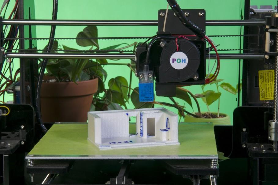 Imprime notre maison est à l'étape des prototypes,... (Photo fournie par Imprime notre maison)