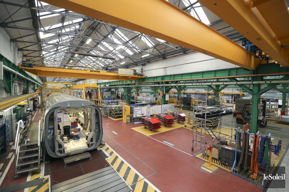 Le contrat octroyé à Bombardier s'inscrit dans un... (Photothèque Le Soleil)