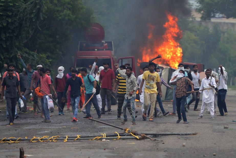 Selon le commissaire adjoint de police Isham Singh,... (AFP)