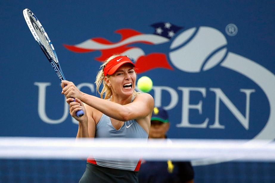 Maria Sharapova a reçuun laissez-passer pour les Internationaux... (PHOTO JASON DECROW, ARCHIVES ASSOCIATED PRESS)