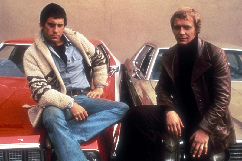 David Starsky (Paul Michael Glaser) et Kenneth «Hutch»... (CAPTURE D'ÉCRAN)