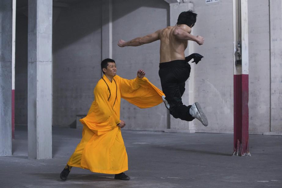 Yu Xia et Philip Ng dans une scène... (PHOTO AP)