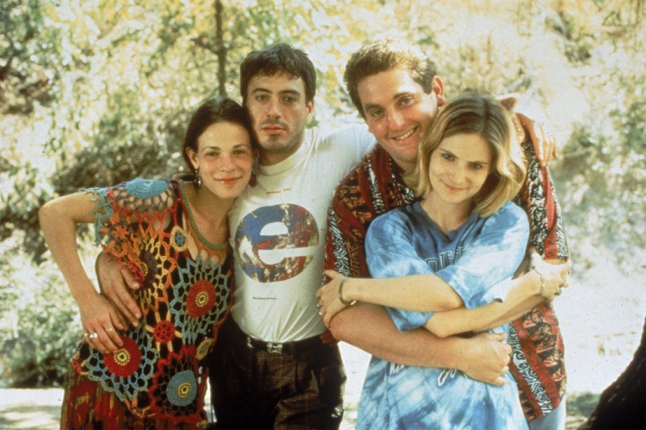 Lili Taylor, Robert Downey Jr., Chris Penn et... (CAPTURE D'ÉCRAN)