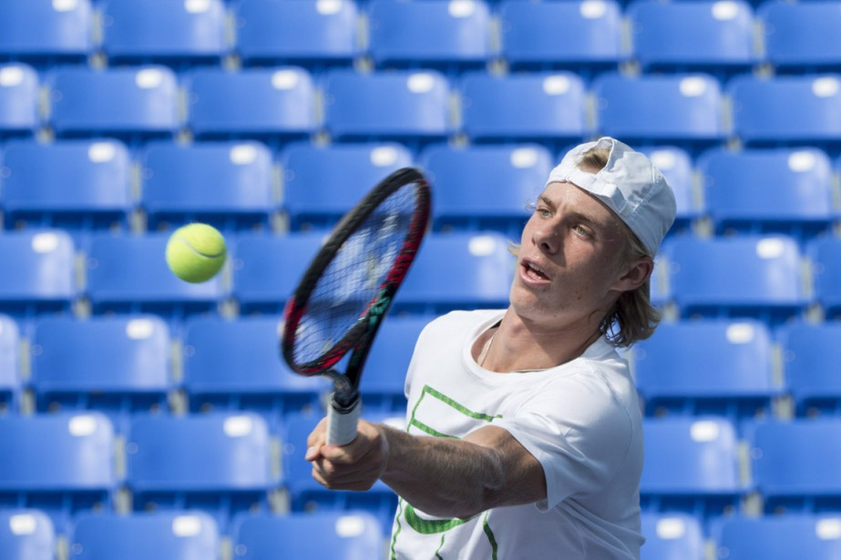 Denis Shapovalov... (PHOTO PAUL CHIASSON, ARCHIVES LA PRESSE CANADIENNE)