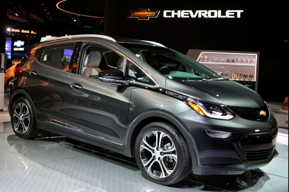 Environ 1 % des 10 000 Bolt vendues peuvent indiquer au conducteur une autonomie inexacte. GM va remplacer les batteries affectées. (Photo : REUTERS)