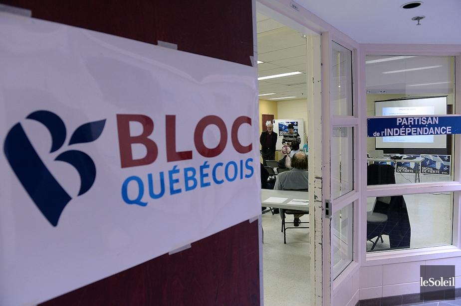 Un local du Bloc québécois dans la circonscription... (PHOTO ERICK LABBÉ, ARCHIVES LE SOLEIL)