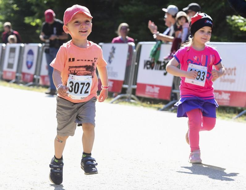 La journée de dimanche était plus familiale, notamment avec le défi des petits de 1 km. | 27 août 2017