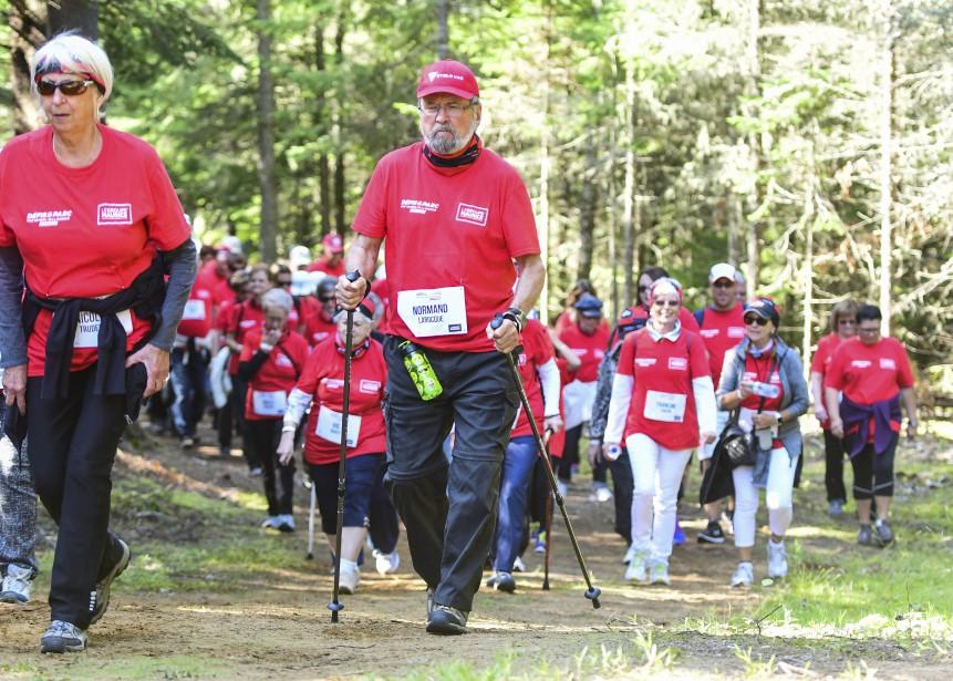 Plus de 150 aînés ont participé au Défi Groupe Maurice qui comprenait un parcours de marche de 3 km. | 27 août 2017