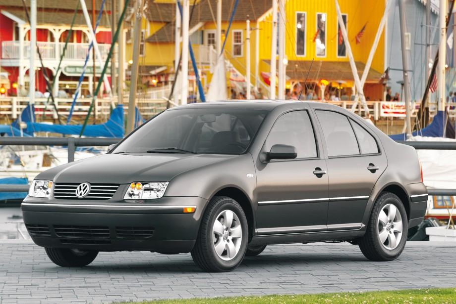 <strong>Sa pire voiture -</strong> une Jetta 2004 qui n'avait pas été bien entretenue. Il a changé diverses pièces, y compris le moteur. (Photo: Volkswagen)