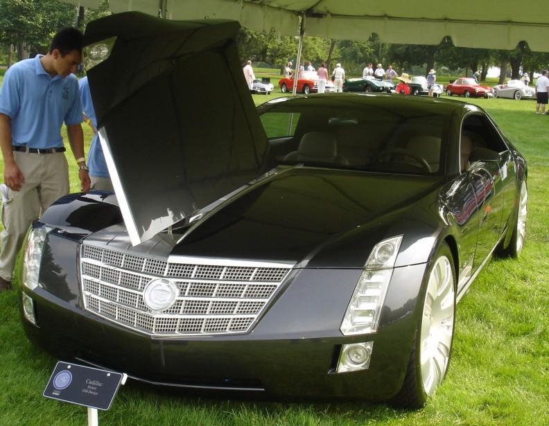 La Cadillac Sixteen Concept a des tapis de sol tissés en soie et un moteur de 1000 chevaux. (Photo : Wikipédia)
