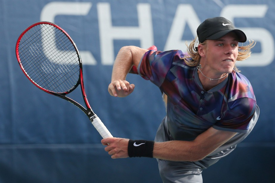 Denis Shapovalov... (Photo Jerry Lai, USA Today Sports)