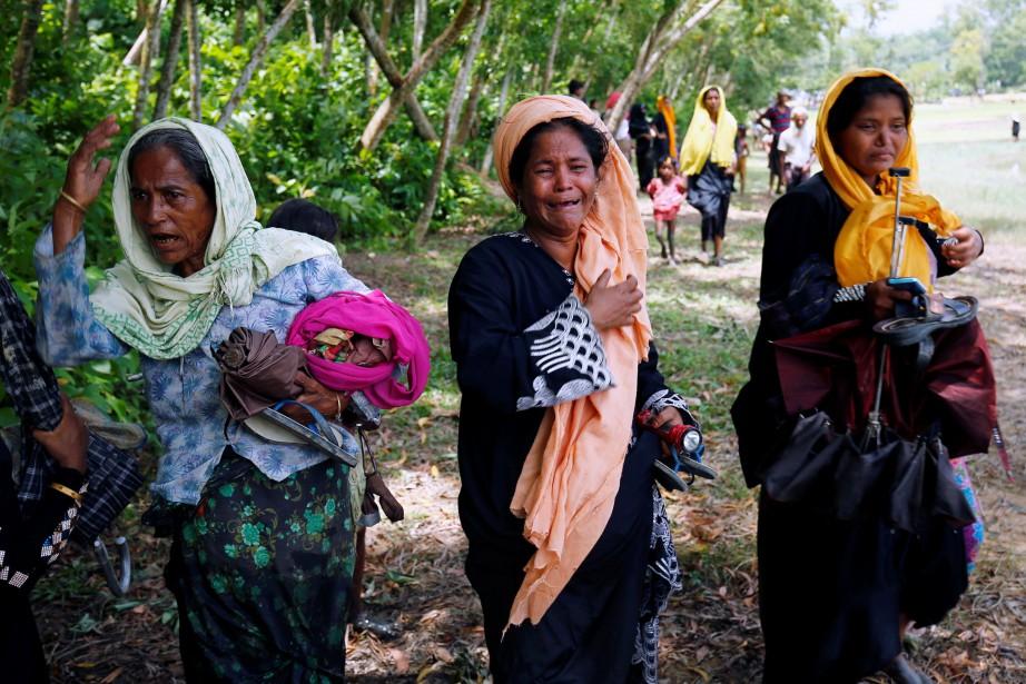Plus de 400 000 réfugiés rohingyas se trouvent... (PHOTO REUTERS)
