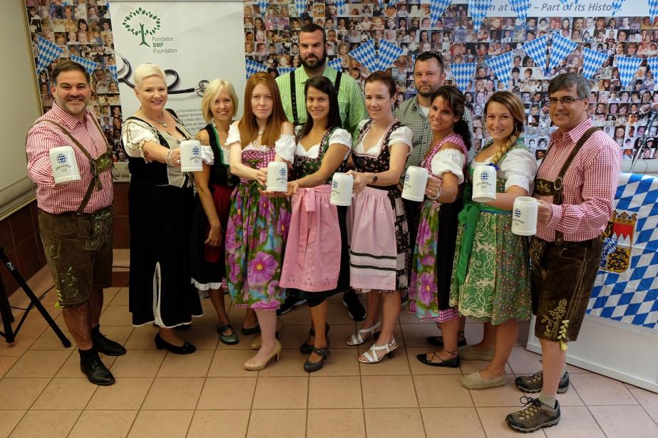 Le chalet du Versant du lac de la montagne de Bromont vibrera au son de la musique bavaroise le 14 octobre prochain, alors que quelque 500 convives sont attendus dans le cadre du secondOktoberfestBMP au profit de la Fondation de l'hôpital Brome-Missisquoi-Perkins. | 28 août 2017