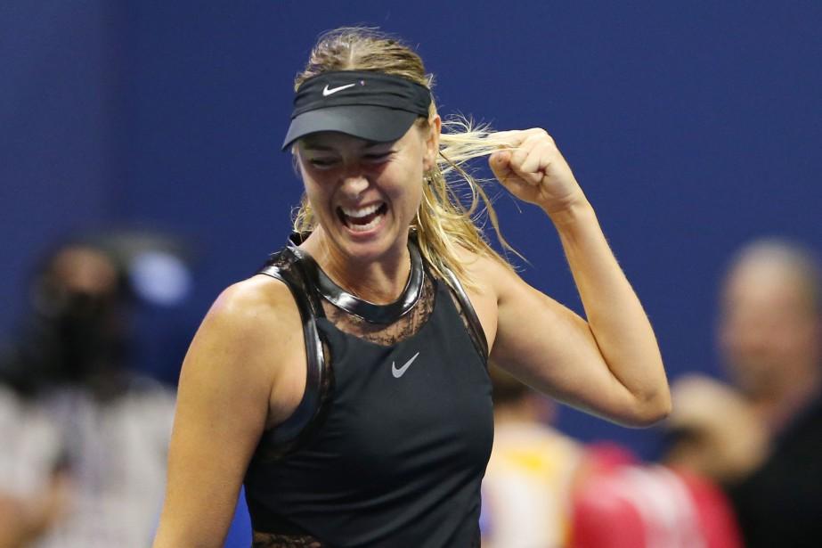 Maria Sharapovan'était plus apparue dans un tournoi du... (PHOTO REUTERS)