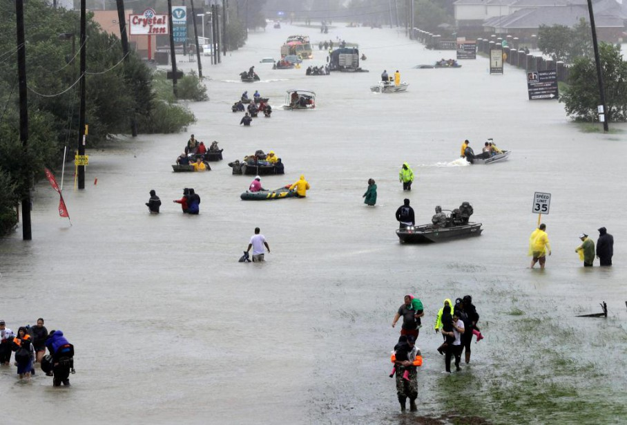 Le nombre de réfugiés à Houston est monté... (photo david j. philip, associated press)