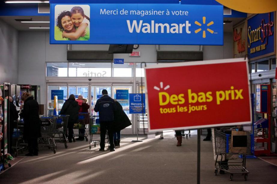 Walmart, qui fait face à la concurrence féroce... (Photo André Pichette, Archives La Presse)