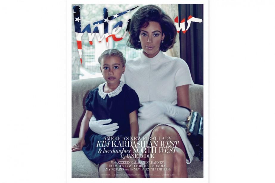 KimKardashian et sa fille North West sont sur... (Photo tirée su compte Twitter de Kim Kardashian)