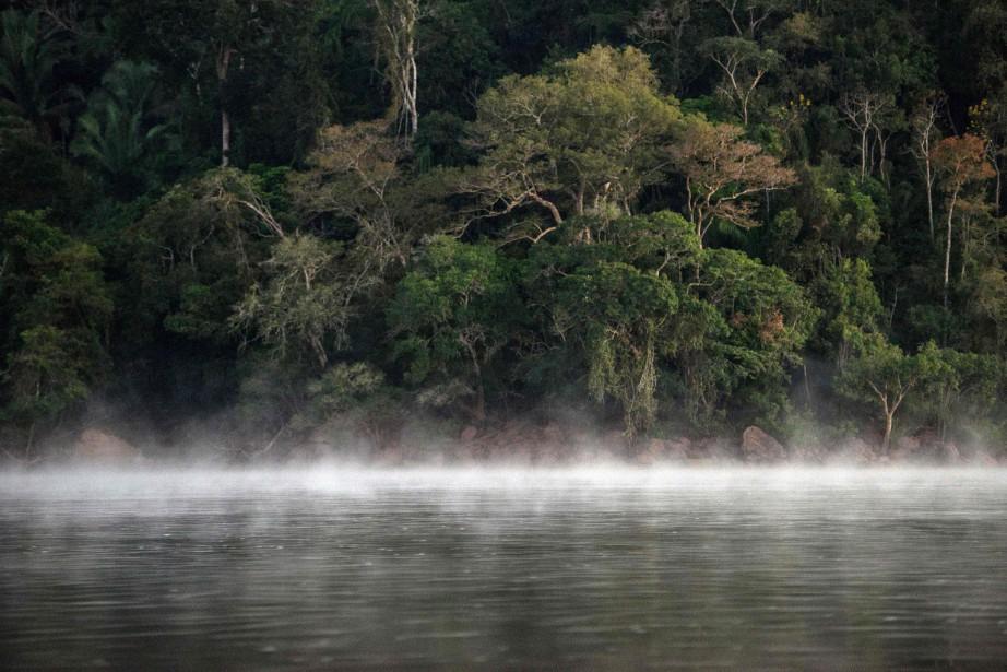 Le gouvernement brésilien a rejeté une étude d'impact... (ARCHIVES AFP)