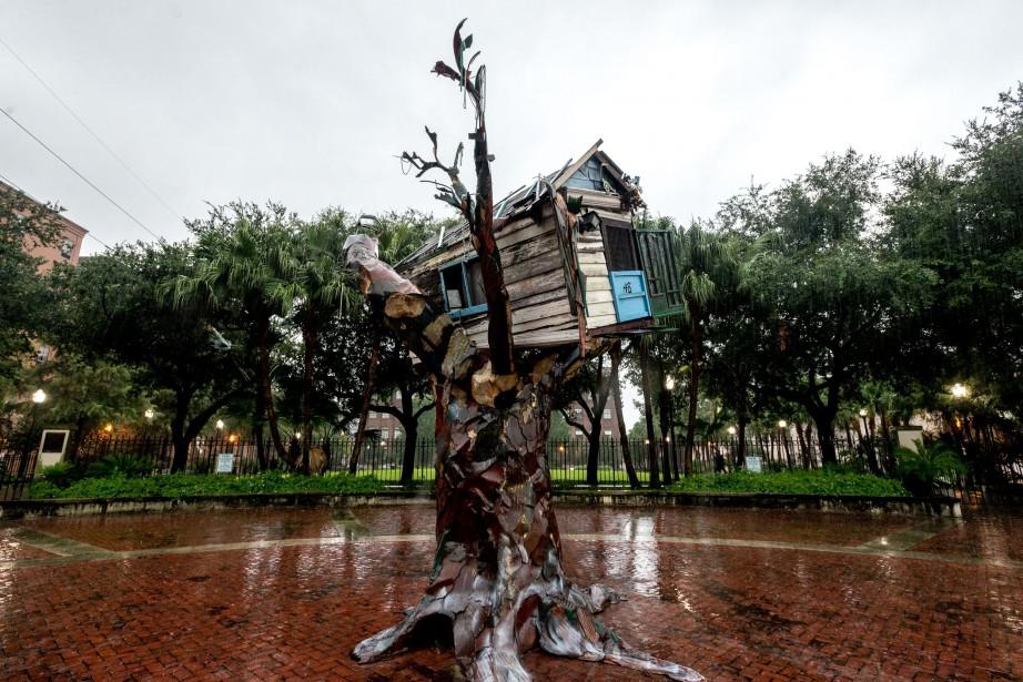 Le «Scrap House» de l'artiste Sally Heller a... (PHOTO AFP)