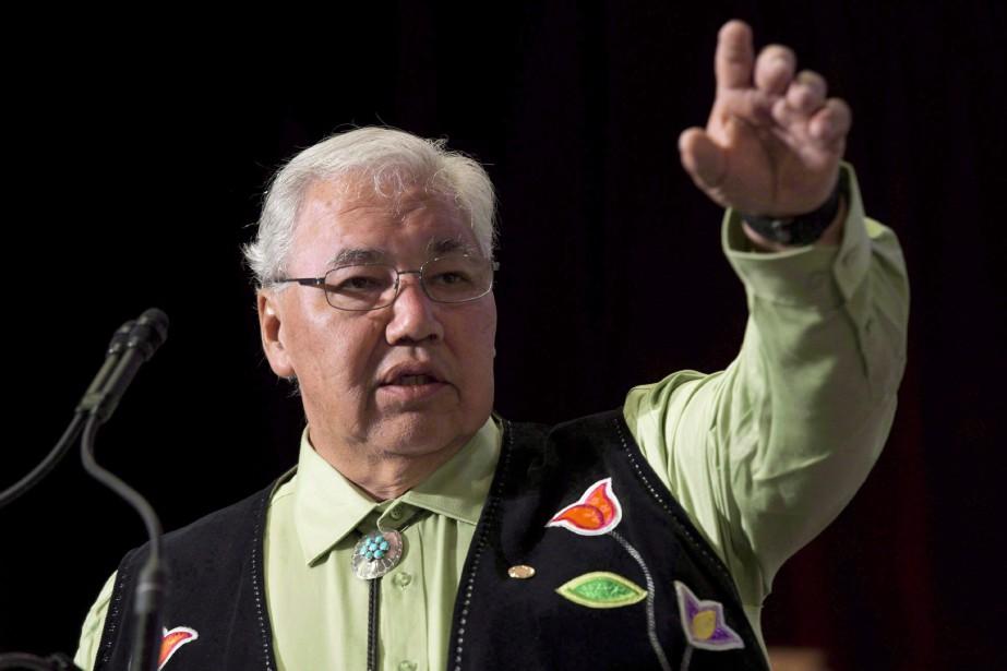Le sénateur Murray Sinclair, qui a passé six... (Photo La Presse canadienne)