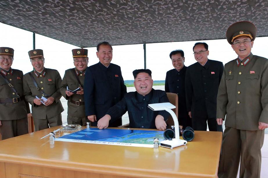 Le Rodong Sinmun, organe du parti unique au... (AFP)
