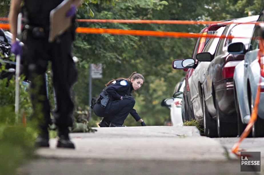 L'enquête a été confiée à l'escouade des Crimes... (Photo Patrick Sanfaçon, La Presse)
