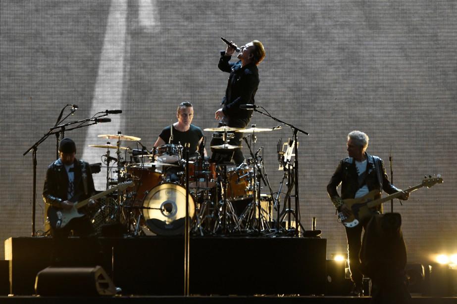 U2 en spectacle à Dublin dans le cadre... (PHOTO ARCHIVES REUTERS)