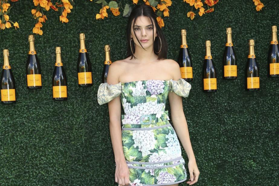 La mannequin Kendall Jenner... (PHOTO ARCHIVES AP)