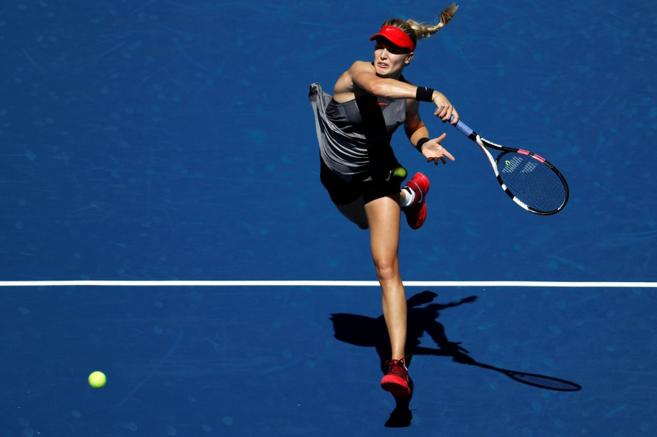 Eugenie Bouchard... (PHOTO REUTERS)
