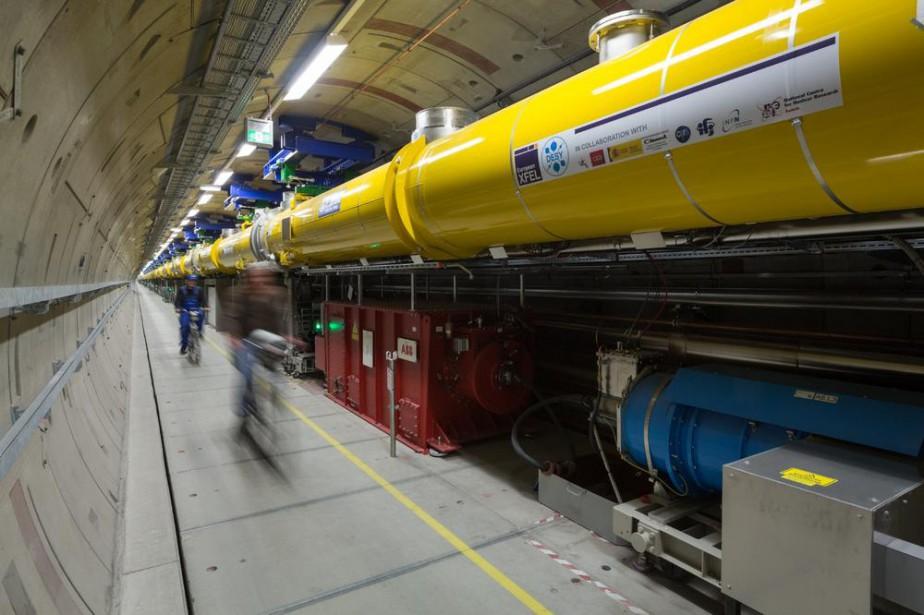 Le Laser Européen à Electrons Libres et à... (ARCHIVES AFP)