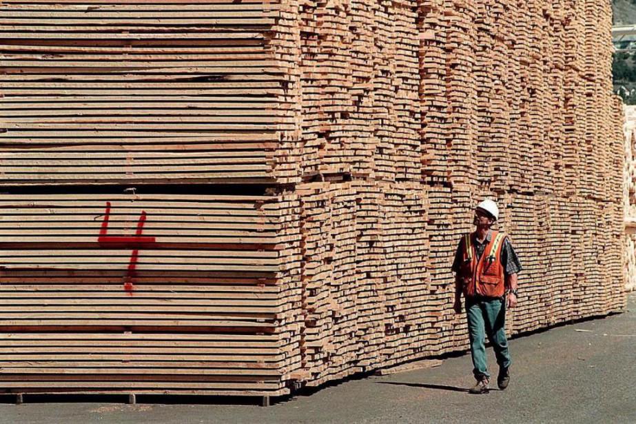 Produits forestiers Résolu fait don d'un wagon de... (ARCHIVES AP)