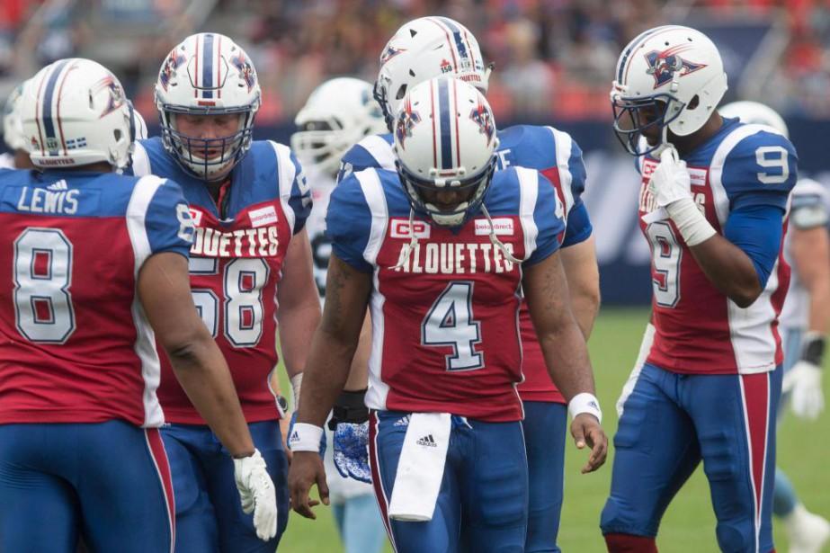 Les Alouettes retrouveront-ils le chemin de la victoire?... (PhotoChris Young, La Presse canadienne)