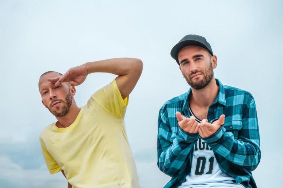 Eman & Vlooper viennent de sortir l'album Lajoie.... (Photo Claude Bégin, fournie par Disques 7ième Ciel)