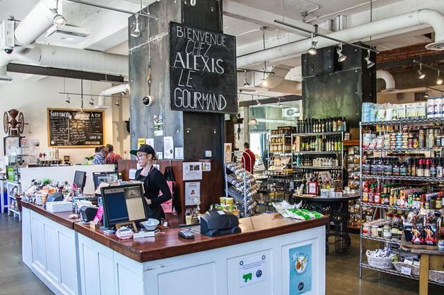 La chic épicerie Alexis le Gourmand...