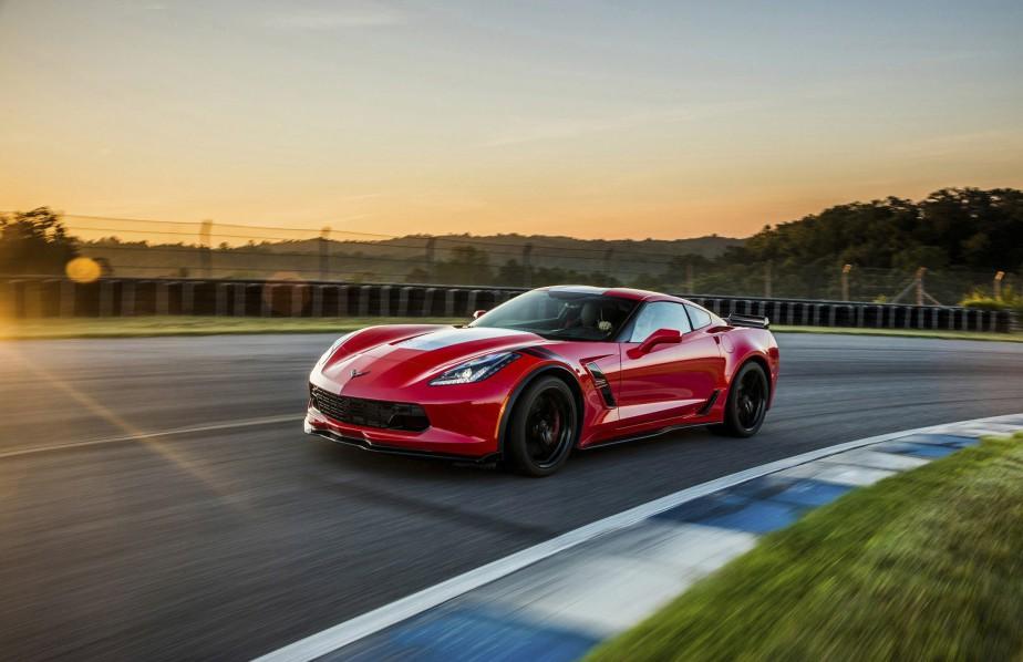 La Chevrolet Corvette est faite à 82 % de pièces et composantes américaines et elle est construite à Bowling Green, au Kentucky. Photo: Chevrolet ()