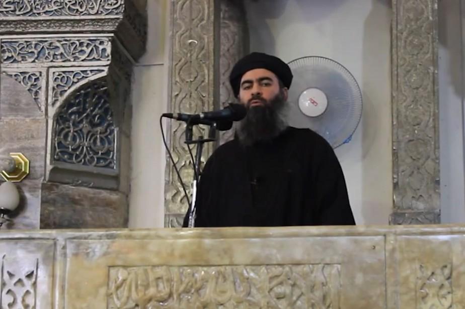 Abou Bakr al-Baghdadi aurait pu s'enfuir avec d'autres... (ARCHIVES AFP)
