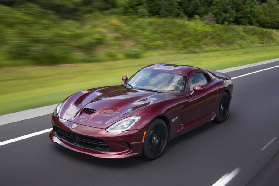 La Viper sera regrettée pour sa démesure. (Photo :Dodge)