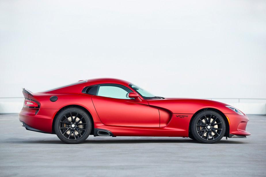Avec son V10 de 8,4 litres, la Viper est une brute. ()