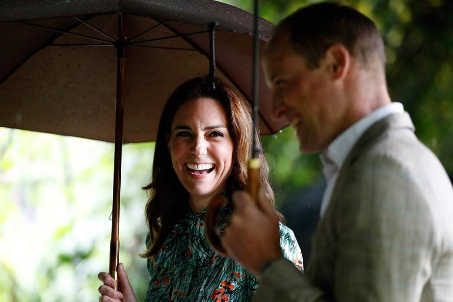 Le couple royal a déjà deux enfants, le... (PHOTO KIRSTY WIGGLESWORTH, ARCHIVES ASSOCIATED PRESS)
