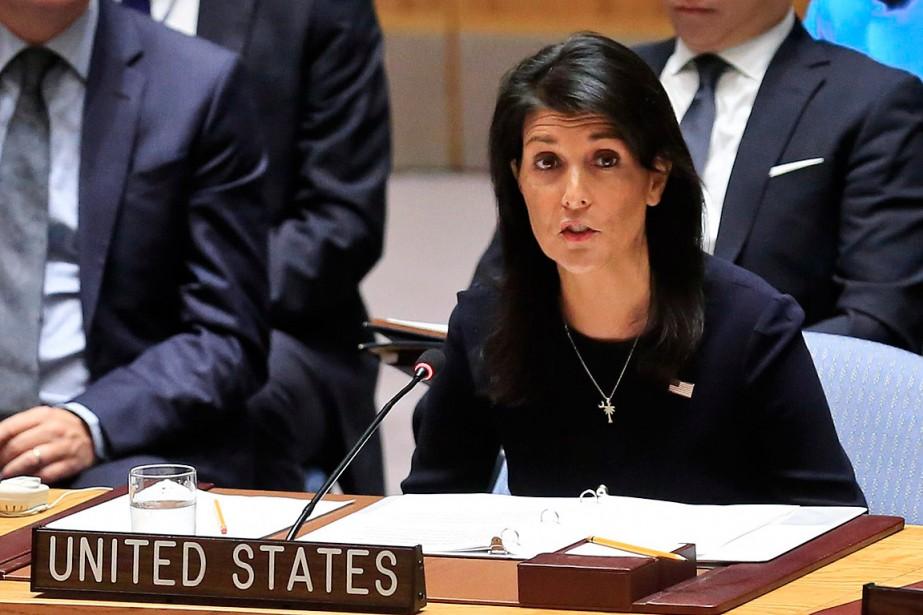«Trop c'est trop» et il faut que l'ONU... (PHOTO BEBETO MATTHEWS, ASSOCIATED PRESS)