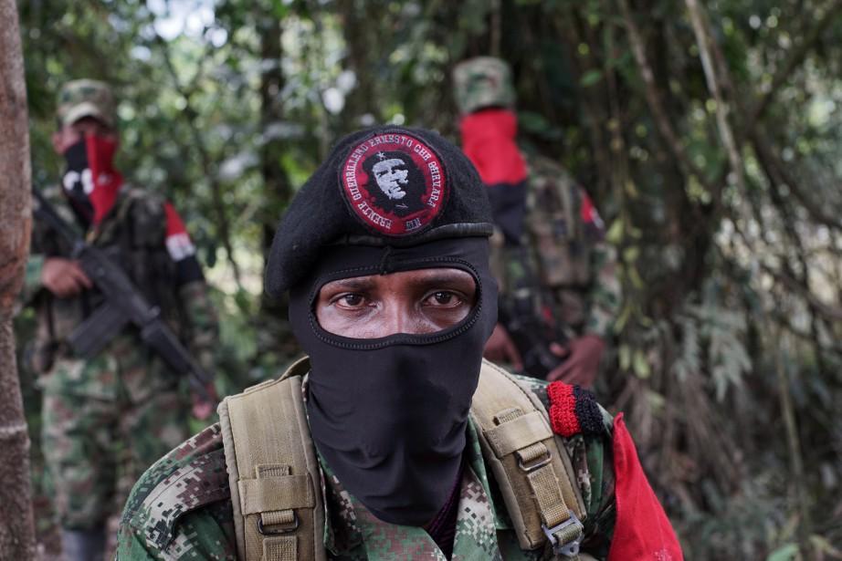 Le gouvernement colombien exige de la guérilla, issue... (ARCHIVES REUTERS)