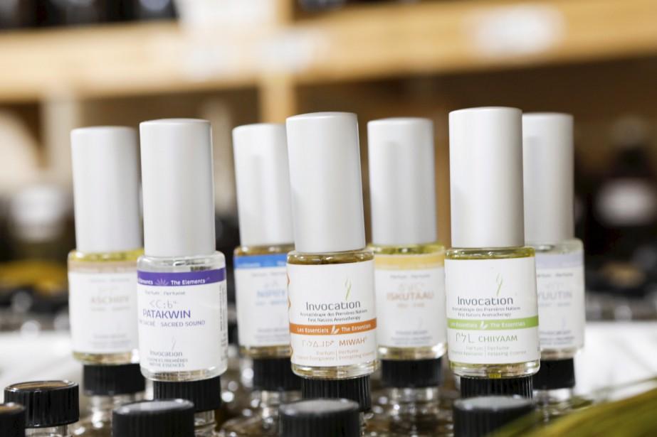 Les parfums d'aromathérapie d'Invocation (Le Soleil, Caroline Grégoire)
