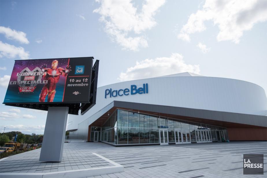 La Place Bell présentera notamment des concerts de... (PHOTO IVANOH DEMERS, LA PRESSE)
