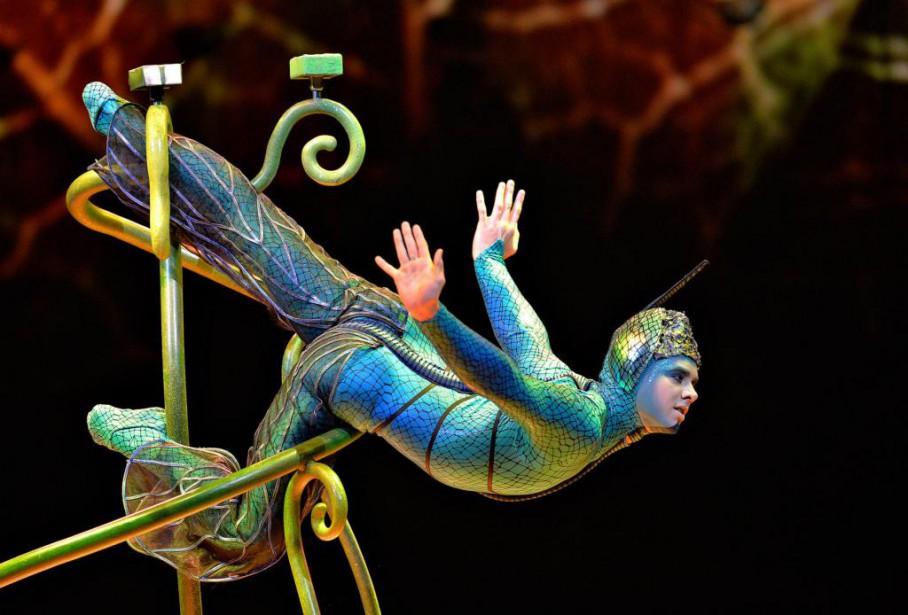 Ovodu Cirque du Soleil... (Photo Pascal Ratthé, Archives Le Soleil)